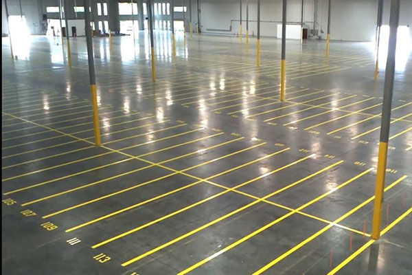 Industrial Lined Striping